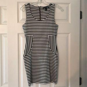 Never worn, slim fitting dress